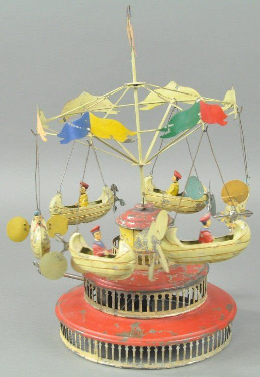 CAROUSEL WITH FLYING BOATS : Lot 50
