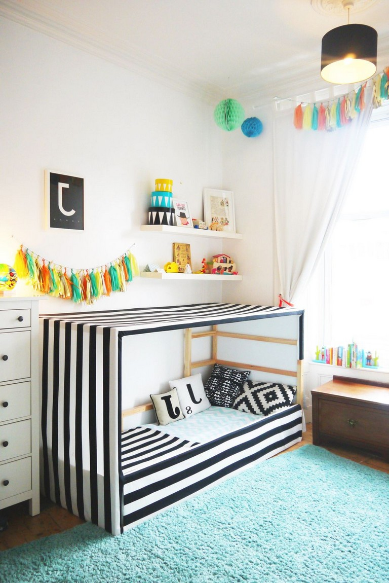47 Pretty Ikea Kura Beds Ideas For Your Kids Rooms Toddler