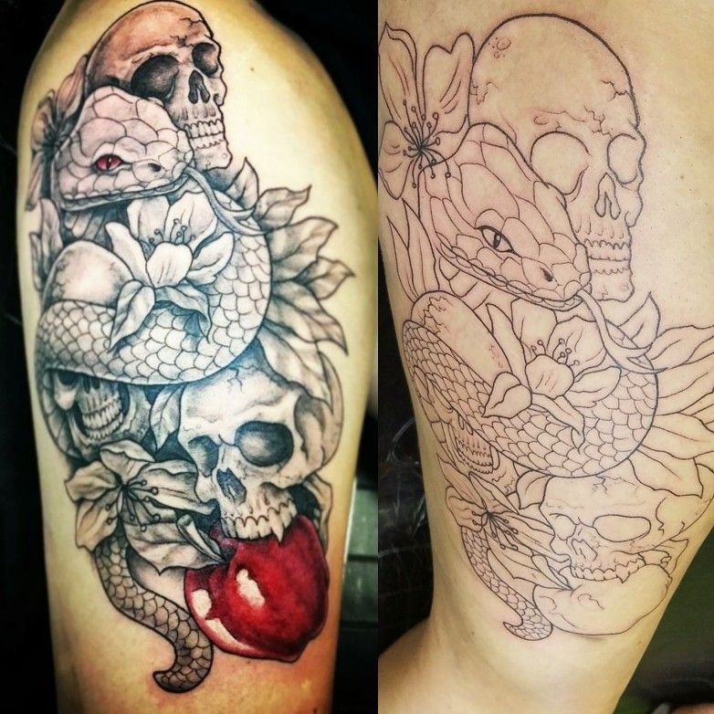 see no evil hear no evil speak no evil tattoo adam and