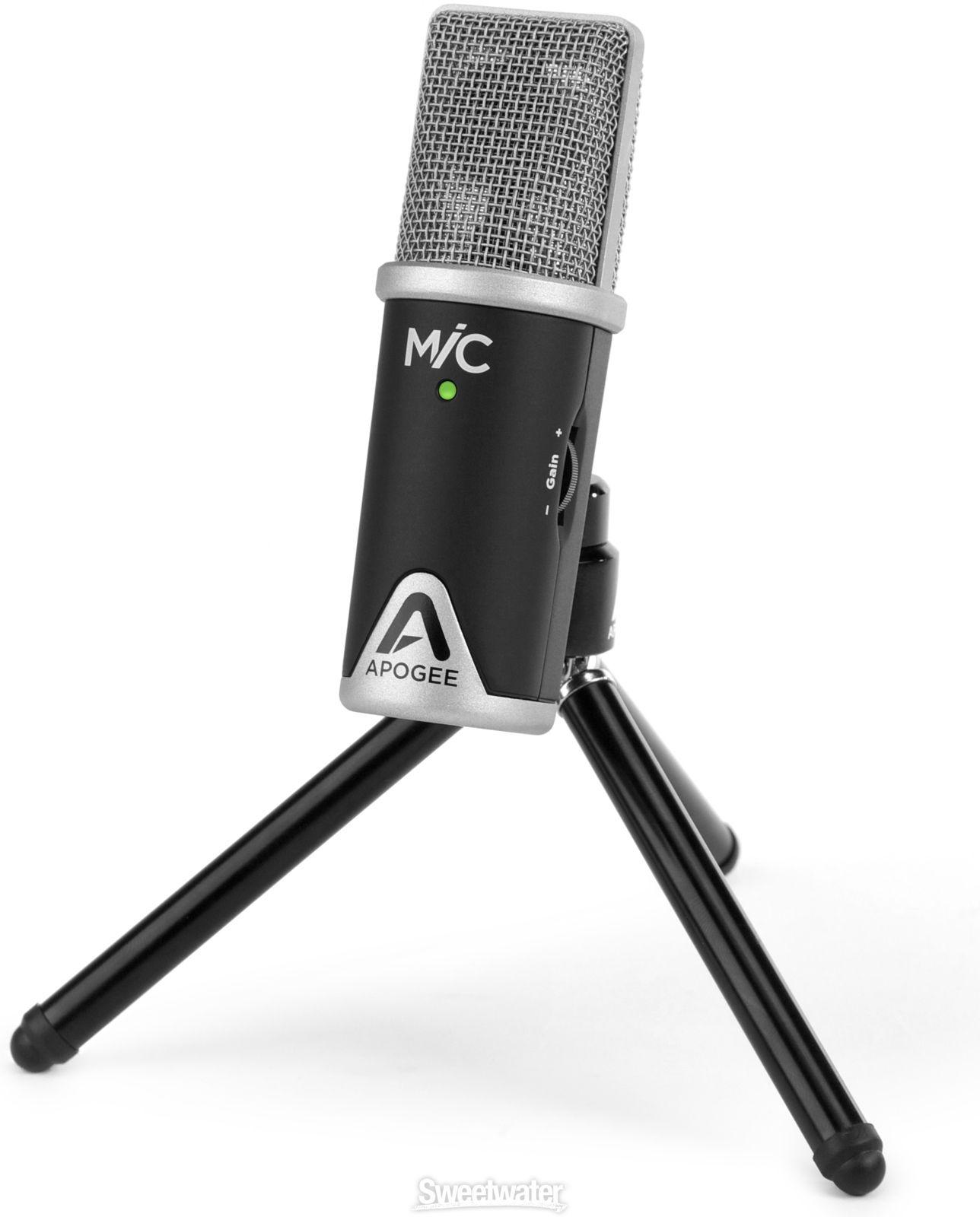 Apogee MiC PLUS for iPad, iPhone, Mac and Windows Usb