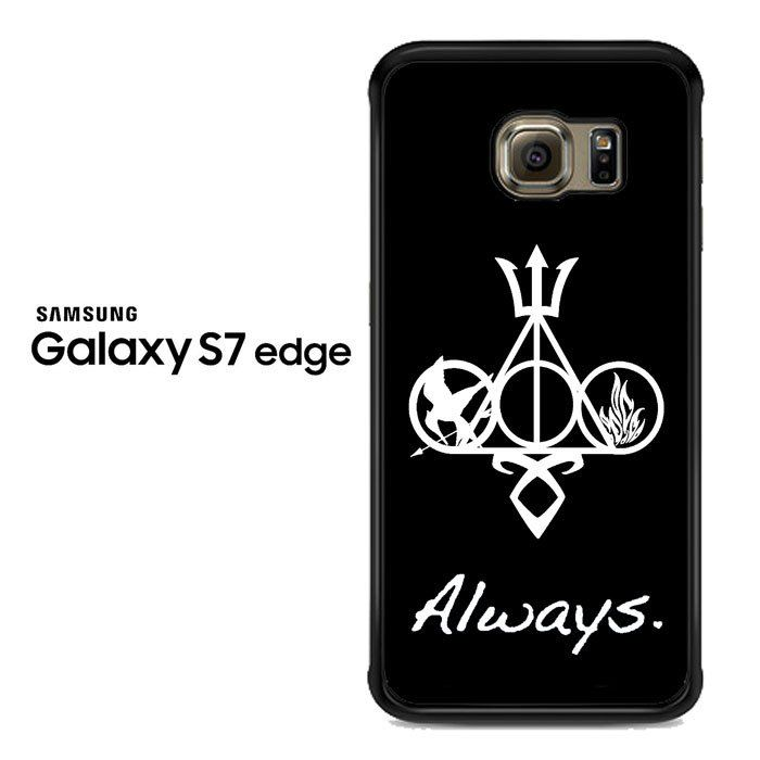 Harry Potter And Friends Always Symbols Samsung Galaxy S7 Edge Case