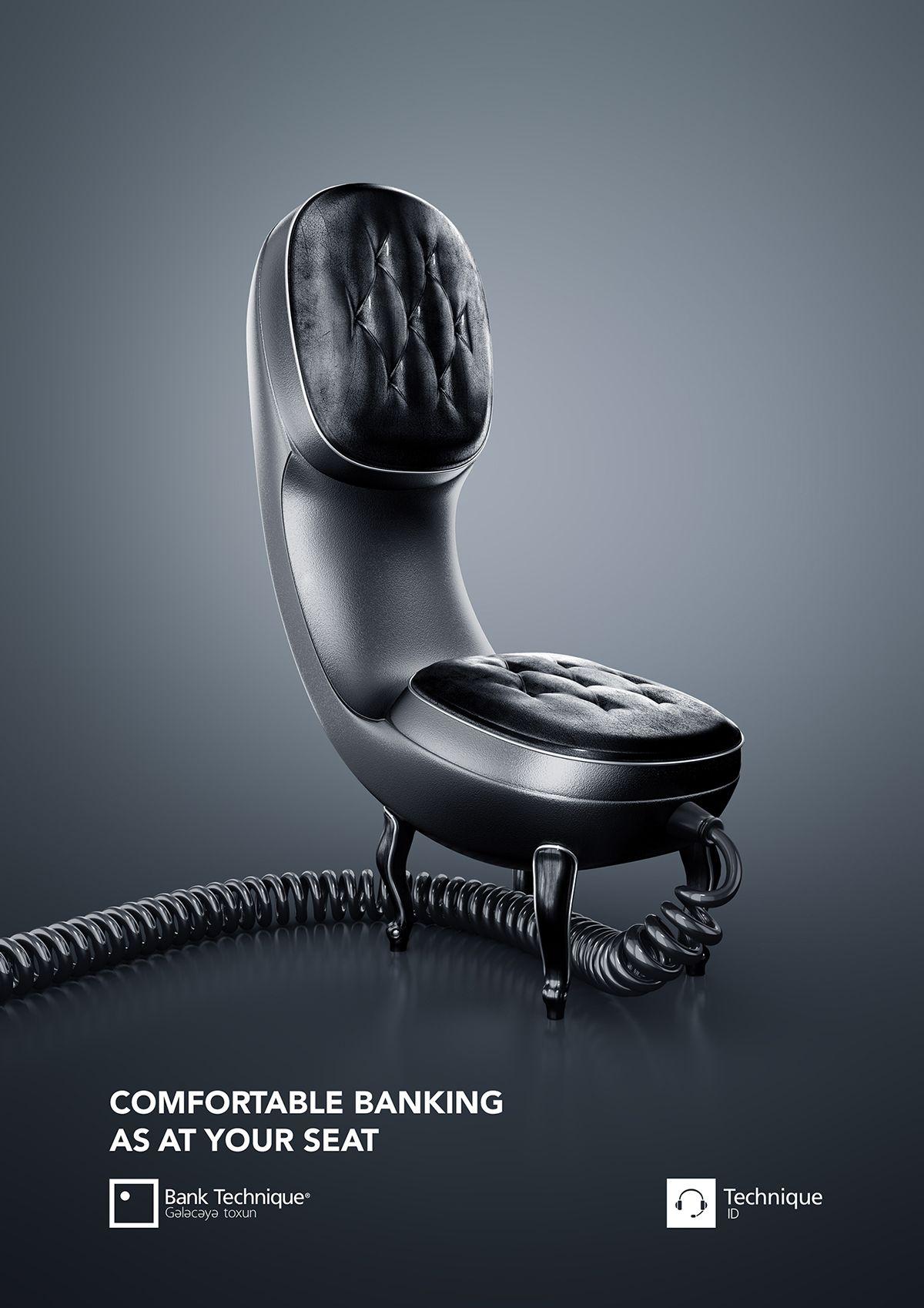 Online Banking AD on Behance Poster design, Poster s, Plakat