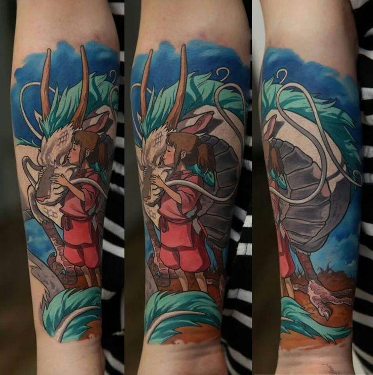 Tattoo Studio Ideas Pinterest: Studio Ghibli Tattoo Designs - Cerca Amb Google