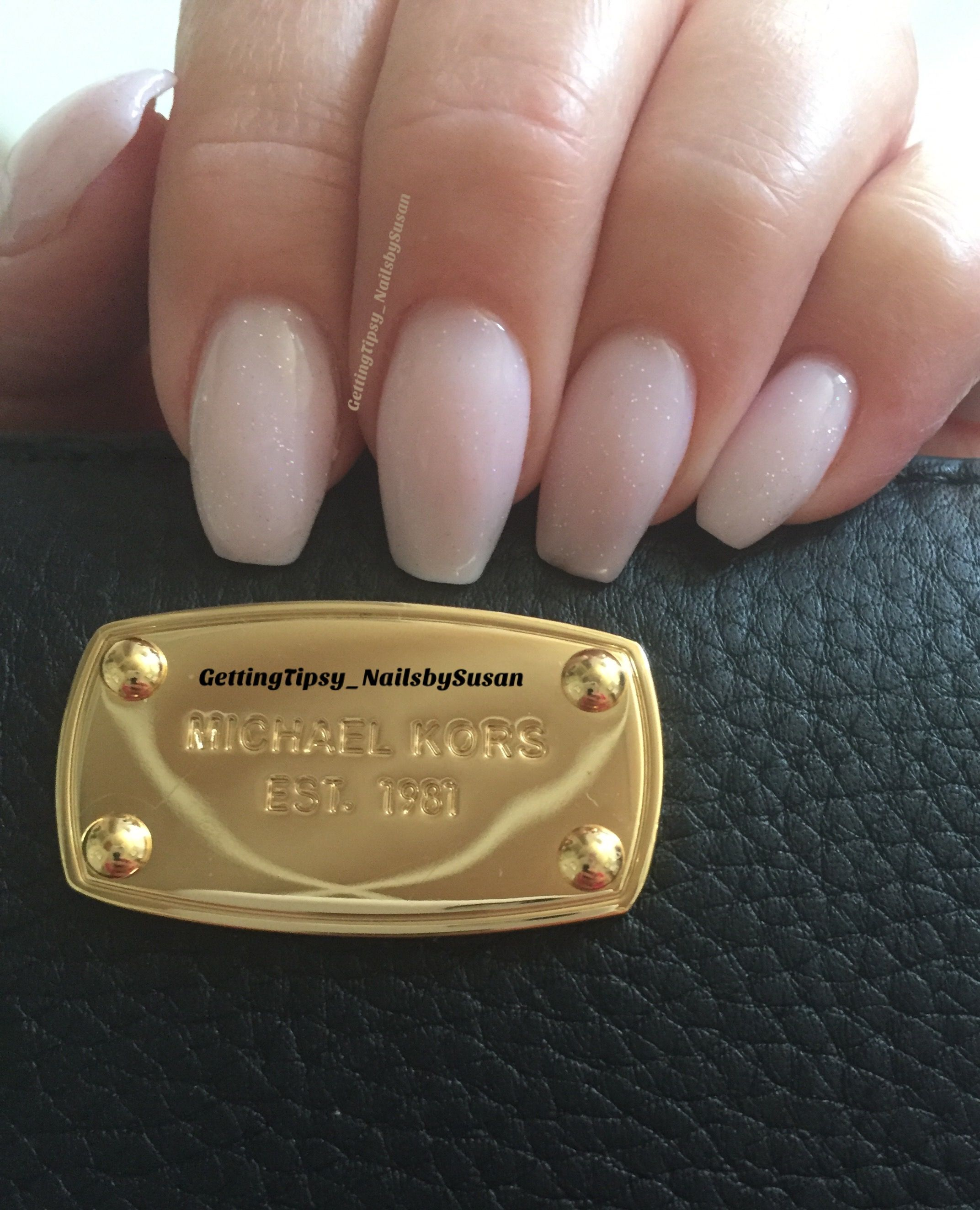 sweet baby pink tapered square nails ugly duckling sculpted gel