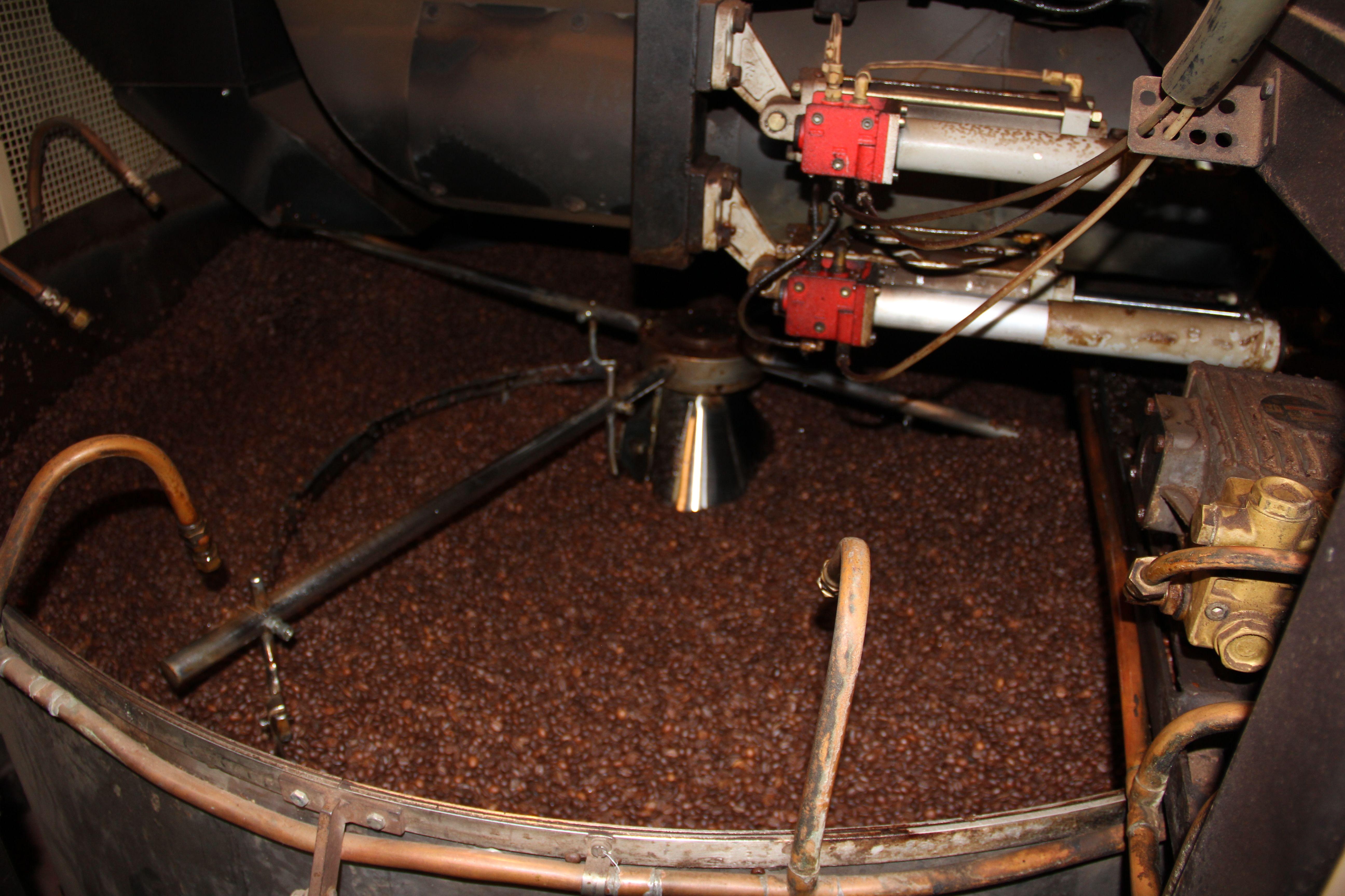 Coffee-making in Genoa