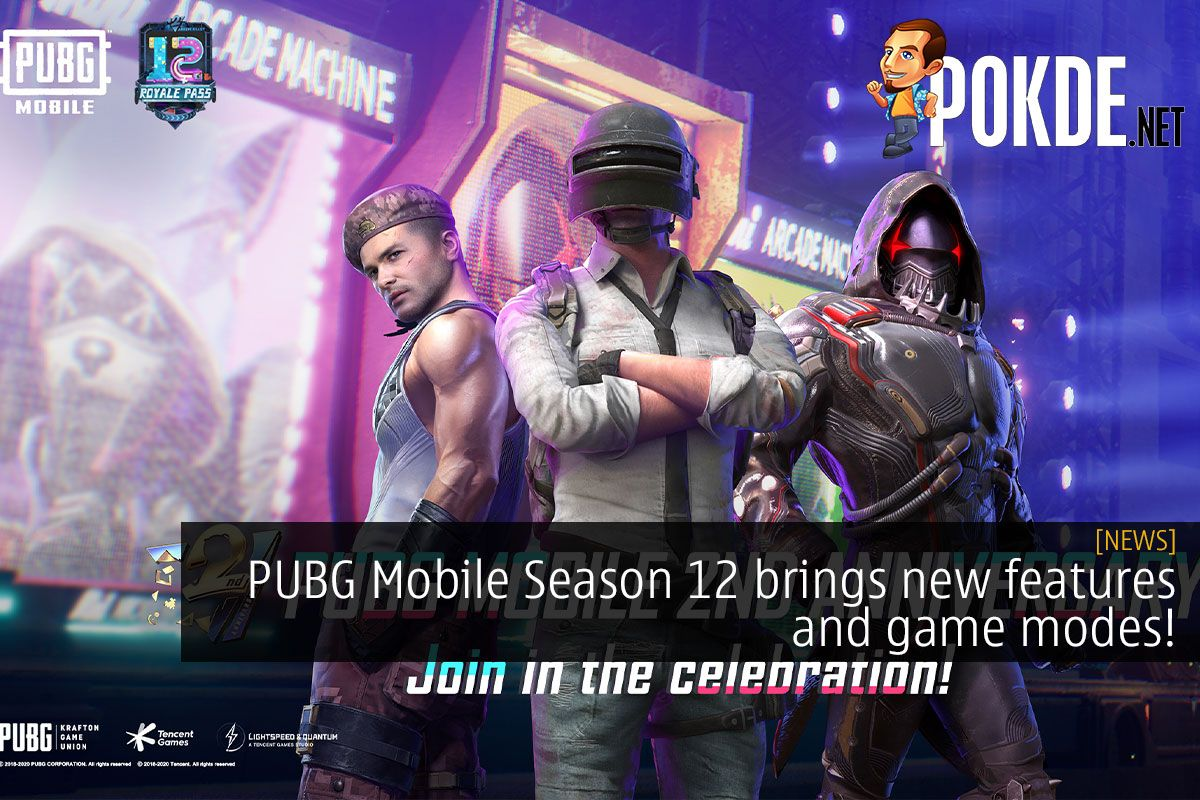 Pubg Mobile Season 12 Brings New Features And Game Mode To The Game Pokde Net Anniversary Party Games 2nd Anniversary Season 12