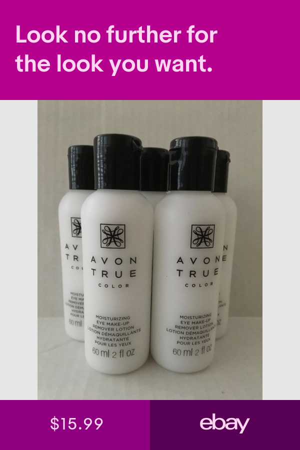 Avon Makeup Remover Health & Beauty ebay Eye makeup