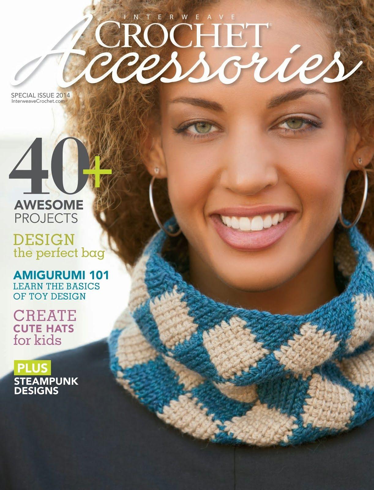 Revista Crochet Accesorios 2014 - Patrones Crochet   crochet ...