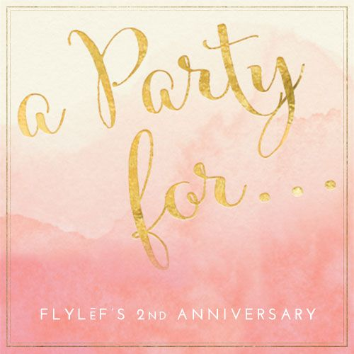 FLYLēF - Young Adult Book Blog for Reviews and Giveaways: FLYLeF Turns 2!