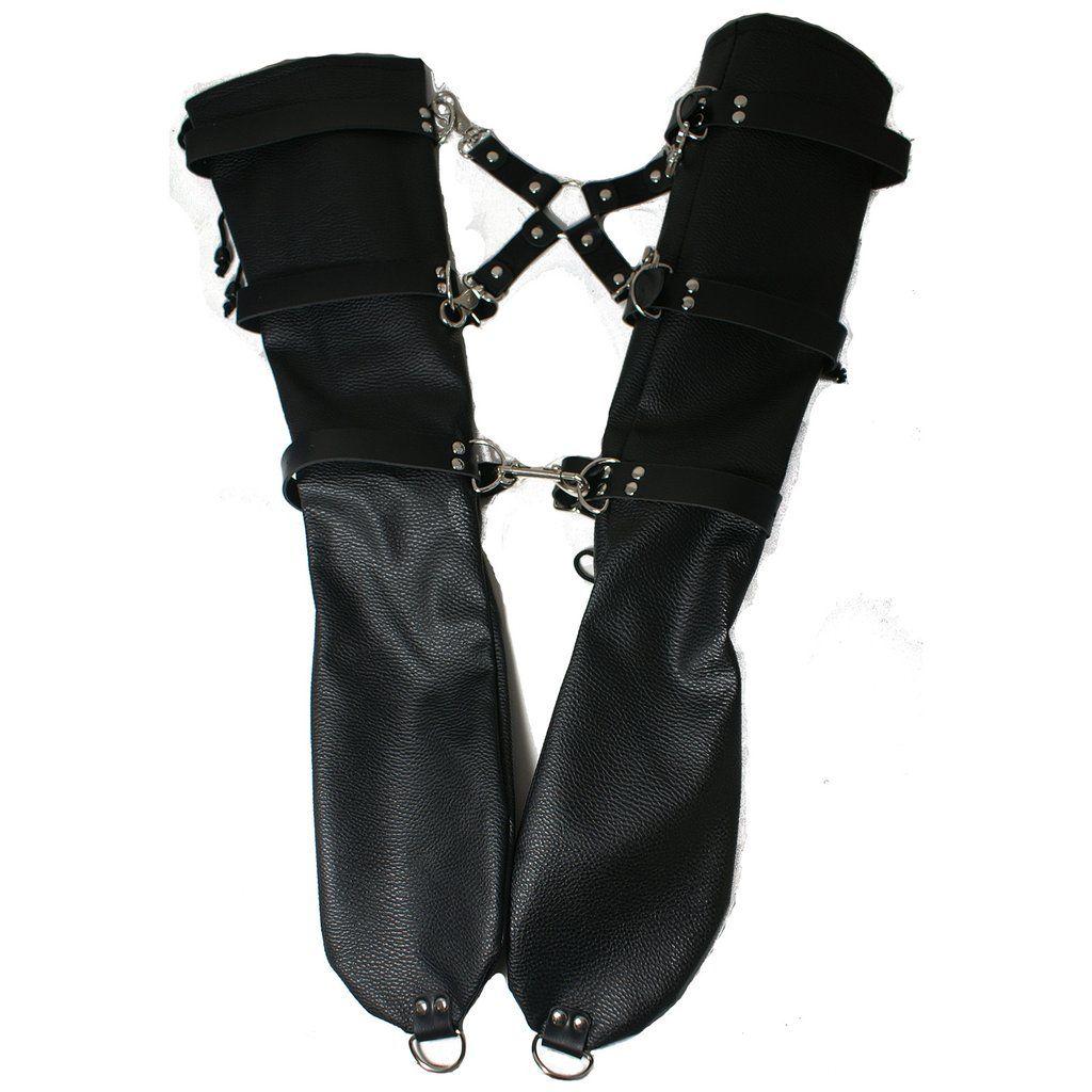 Black bondage clips