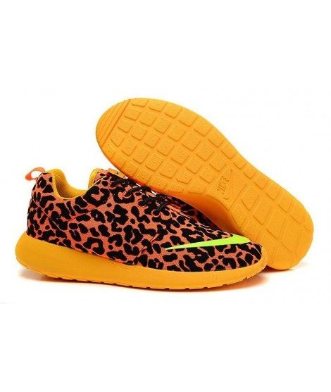 finest selection f0666 0f9a1 Nike Roshe Run Fb Mens Shoes Shop Leopard Yellow