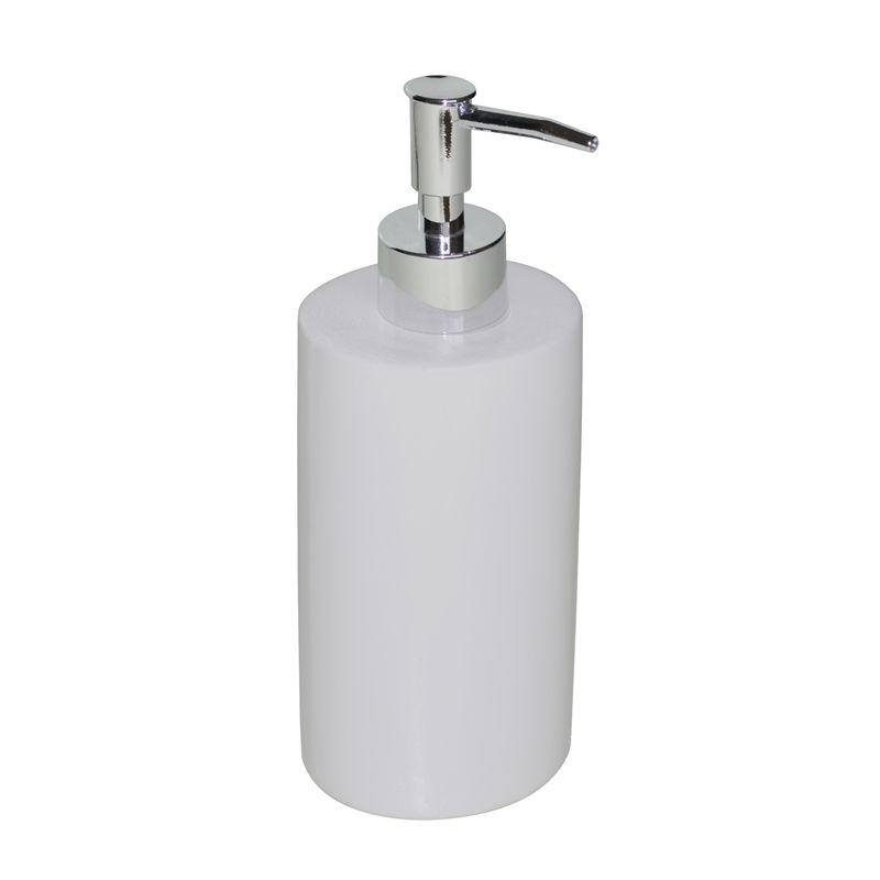 Find Boutique Willow White Ceramic Soap And Lotion Dispenser