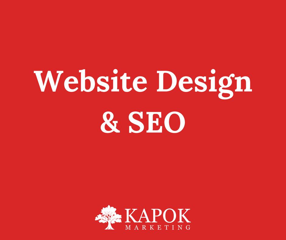 Website Design Seo Tips From Kapok Marketing In St Petersburg Fl Website Design Marketing Seo Tips