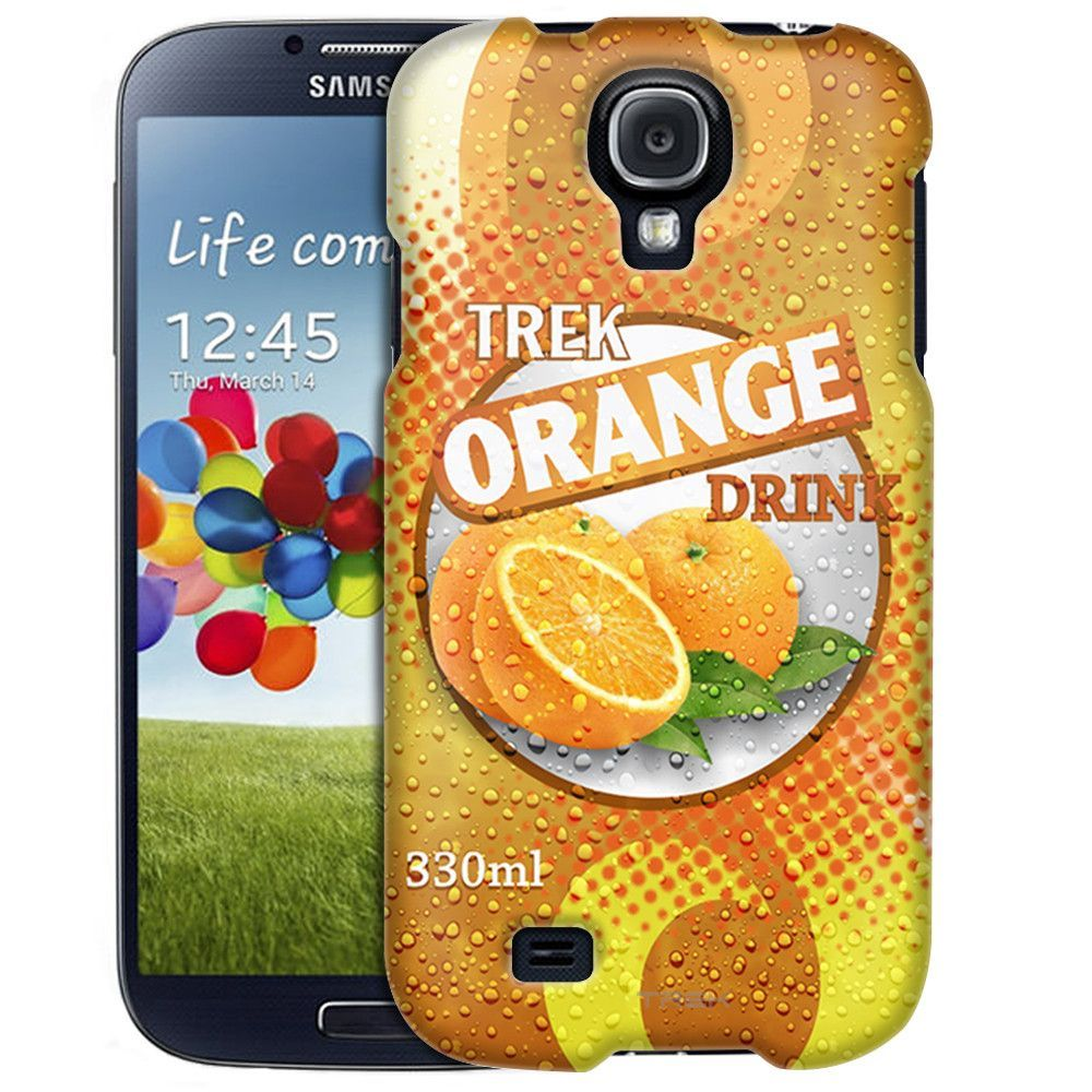 Samsung Galaxy S4 Soda Can Orange Slim Case
