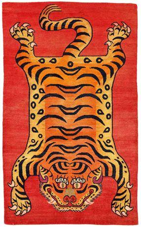 Tibetan Tiger Rugs Rug
