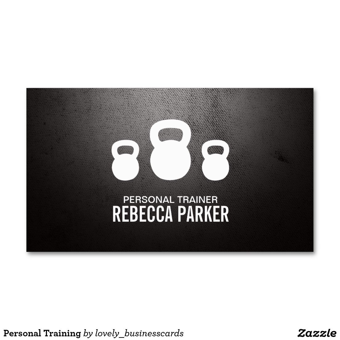 Personal Training Business Card | Crossfit exercises and Support ...