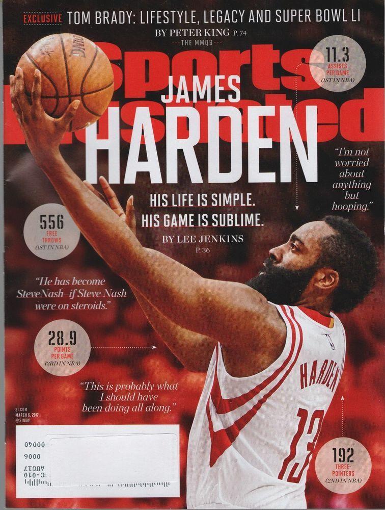 Sports Illustrated Magazine March 6, 2017 James Harden