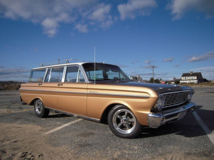 Falcon Station Wagons 1964 Ford Falcon Deluxe Station Wagon