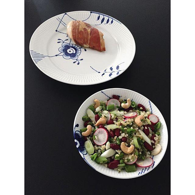 Bulgur salat kylling