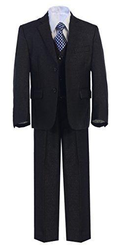 Tuxgear Boys Ribbed Crew Dress Sock 2 Pack