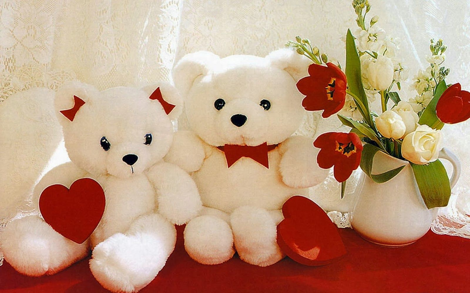 fed1b2e5bb017 Happy Teddy SMS Messages Whatsapp Status Photos Greetings for Girls - White Teddy  Bear wallpapers