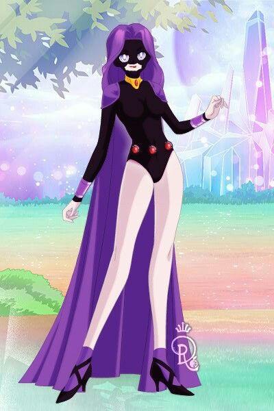 Raven From Teen Titans Hood On As A Sailor Senshi Made -7859