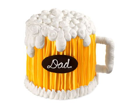 Say cheers to Dad with thisflavourful and frosty cake that will help him kick back, relaxand celebrate the occasion.