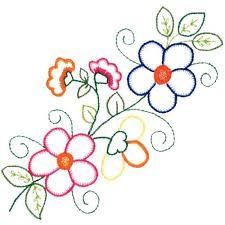 Image Result For Kumaş Boyama çiçek Desenleri Beading Embroidery