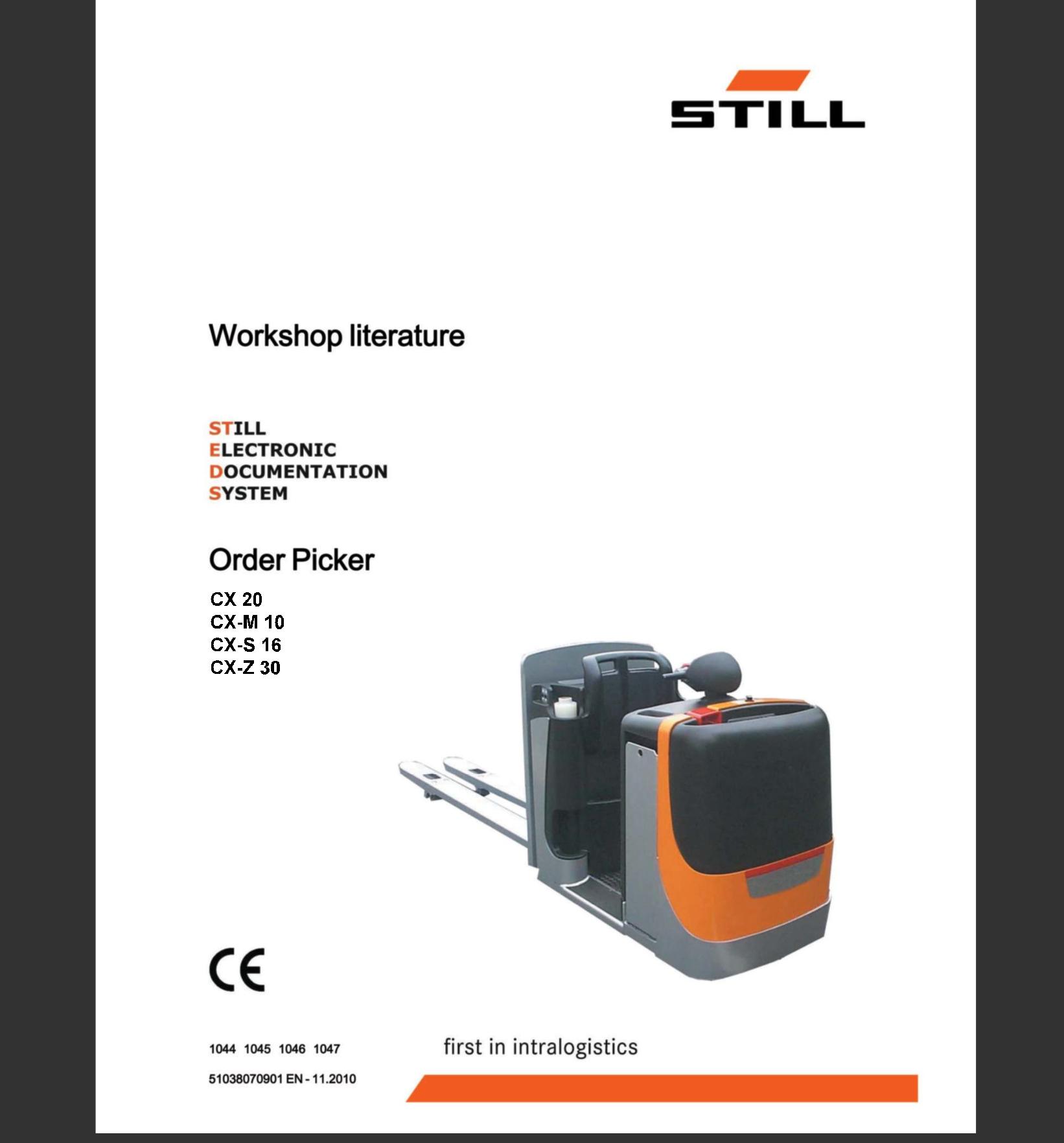 Still Steds Navigator Forklifts 8.20 R2 [02.2020] + Still