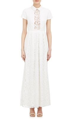 Carven Long Lace Dress At Barneys New York