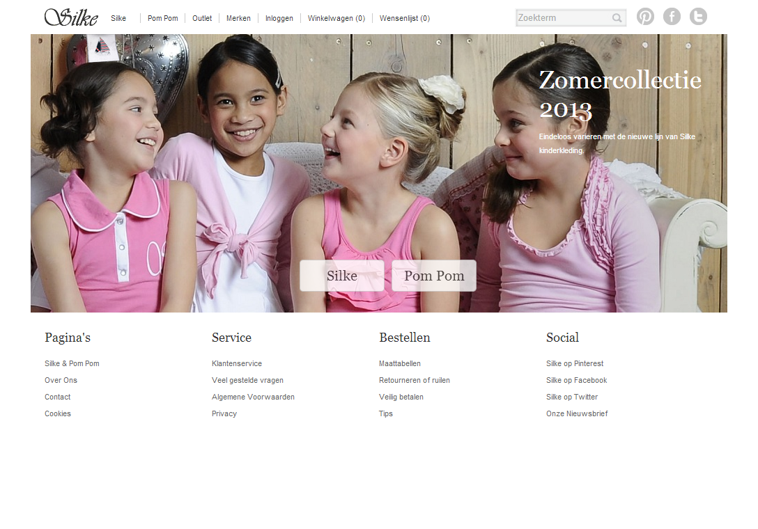 SilkeKinderkleding - Een uitgebreide webshop in kinderkleding, voorzien van voorraadbeheer, bestelstatussen, korting- en couponmogelijkheden