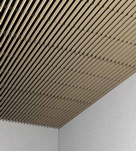 L mina de madera para falso techo lin a volution 2 6 6 - Techos falsos de madera ...