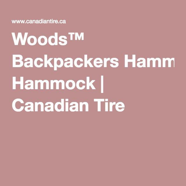 woods    backpackers hammock   canadian tire woods    backpackers hammock   canadian tire   wants  u0026 needs      rh   pinterest