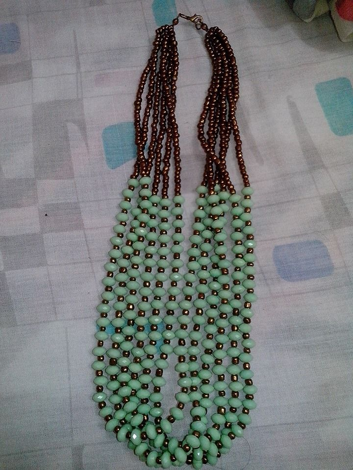 Collar Verde Menta ;)