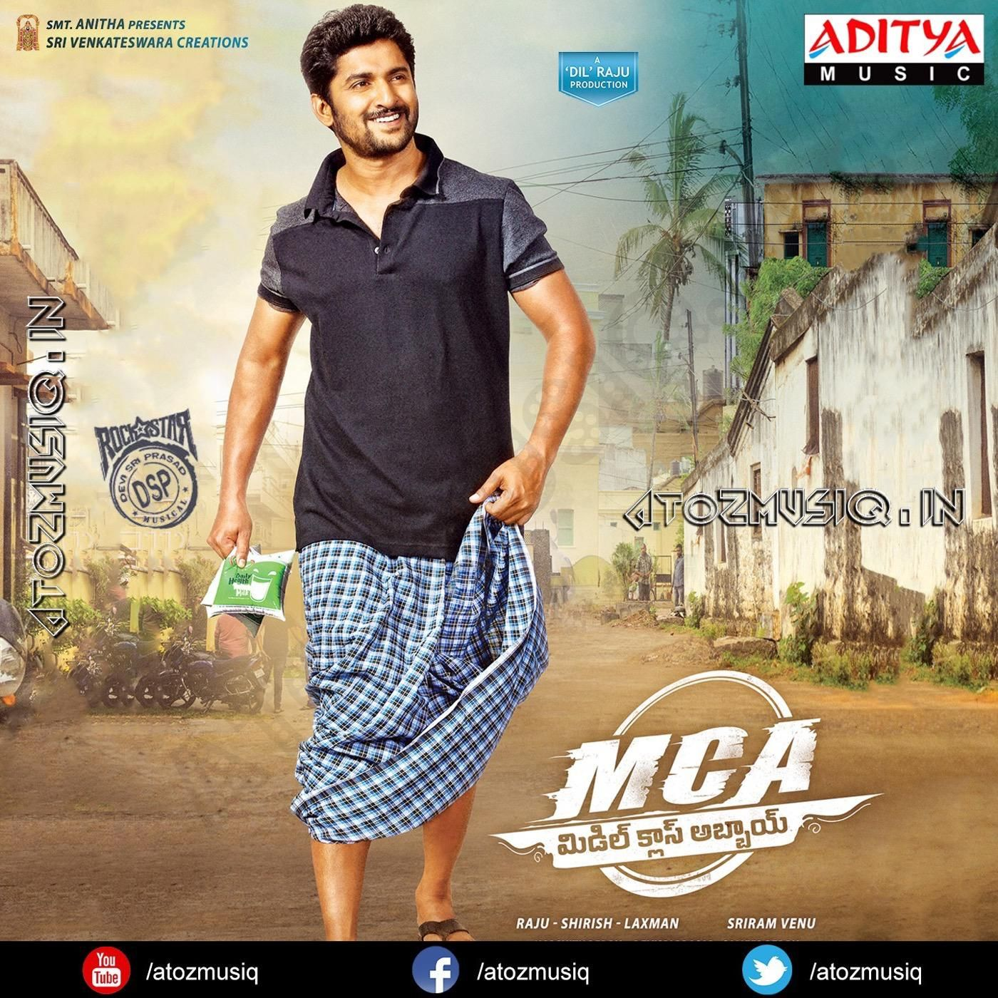 Mca Middle Class Abbayi 2017 Telugu Acd Mp3 Songs Free Download With Images Middle Class Mp3 Song Mca