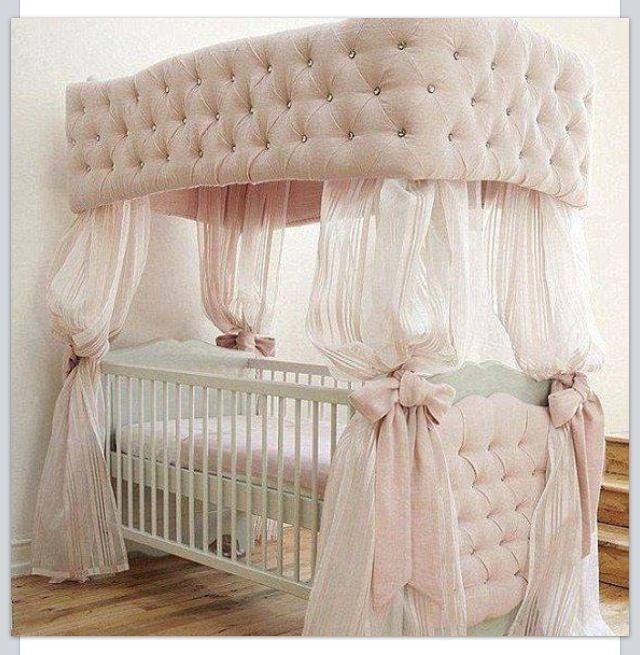 Prettiest Crib Ever Luxury Baby Nursery Baby Girl Room Baby