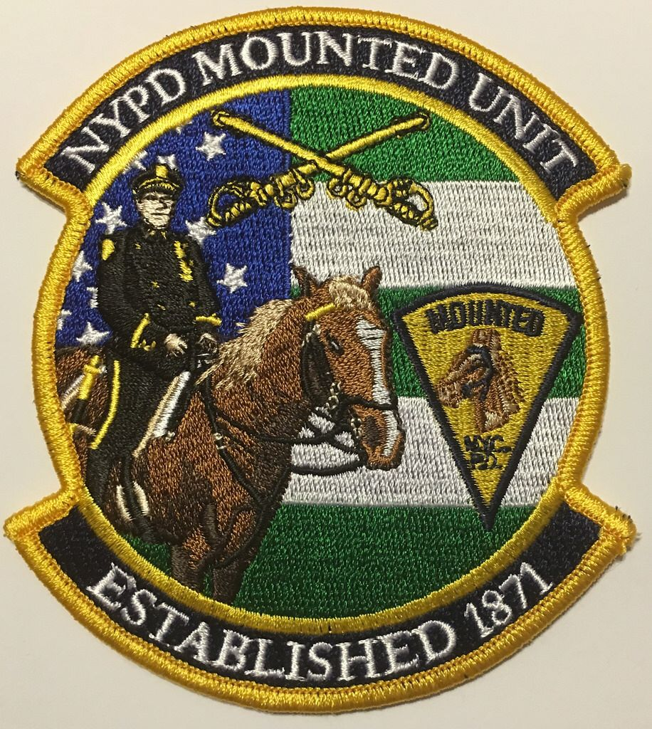 Nypd Huntsman Mounted Police Patches Nypd Army Patches