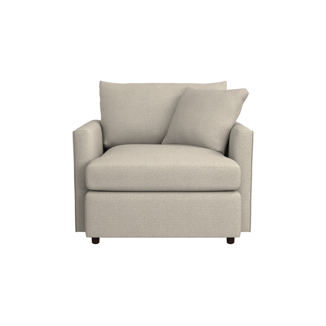 Lounge II Chair + Reviews Crate and Barrel Swivel