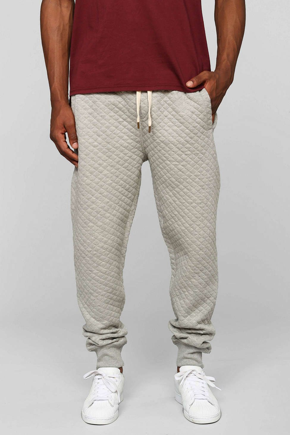 Native Youth quilted jogger pant.  3bf025f4d8b