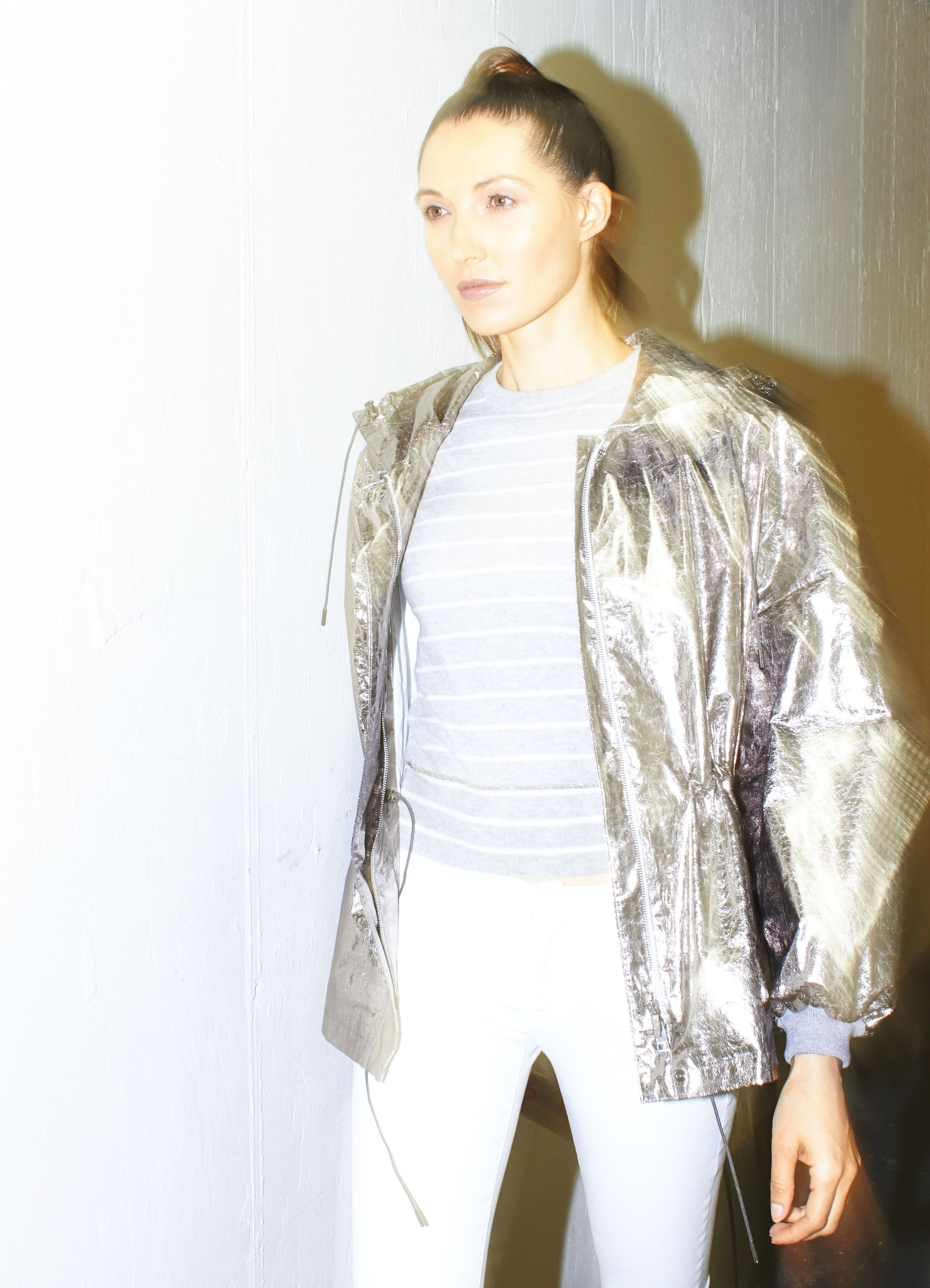 Shimmering glossy, sequined jackets for women exclusive photo