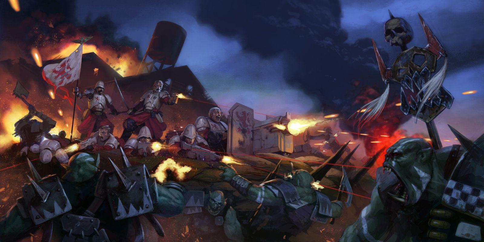 Praetorian XVI's last stand by DiegoGisbertLlorens.deviantart.com on @DeviantArt