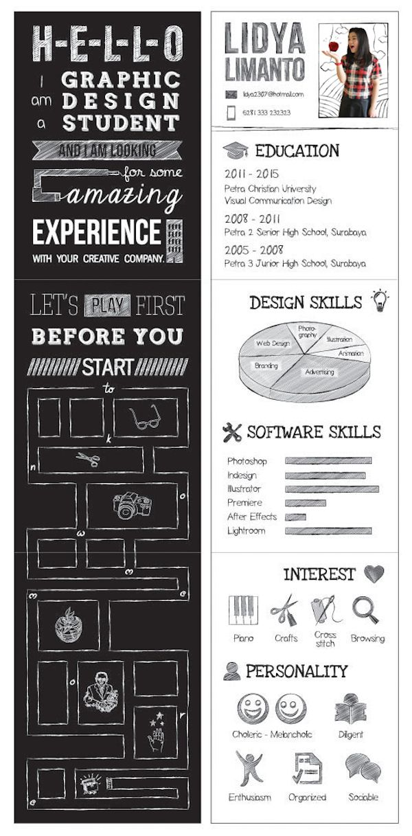 10 exceptionally creative resumes to inspire you Job Seeking