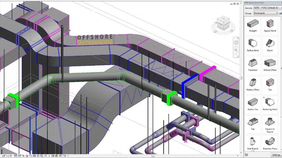 Hvac Duct Fabrication Drawings Hvac Design Hvac Ductwork Hvac Duct