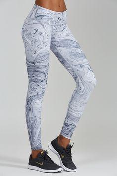 New For Summer Marble Print Leggings Are White Hot Shop