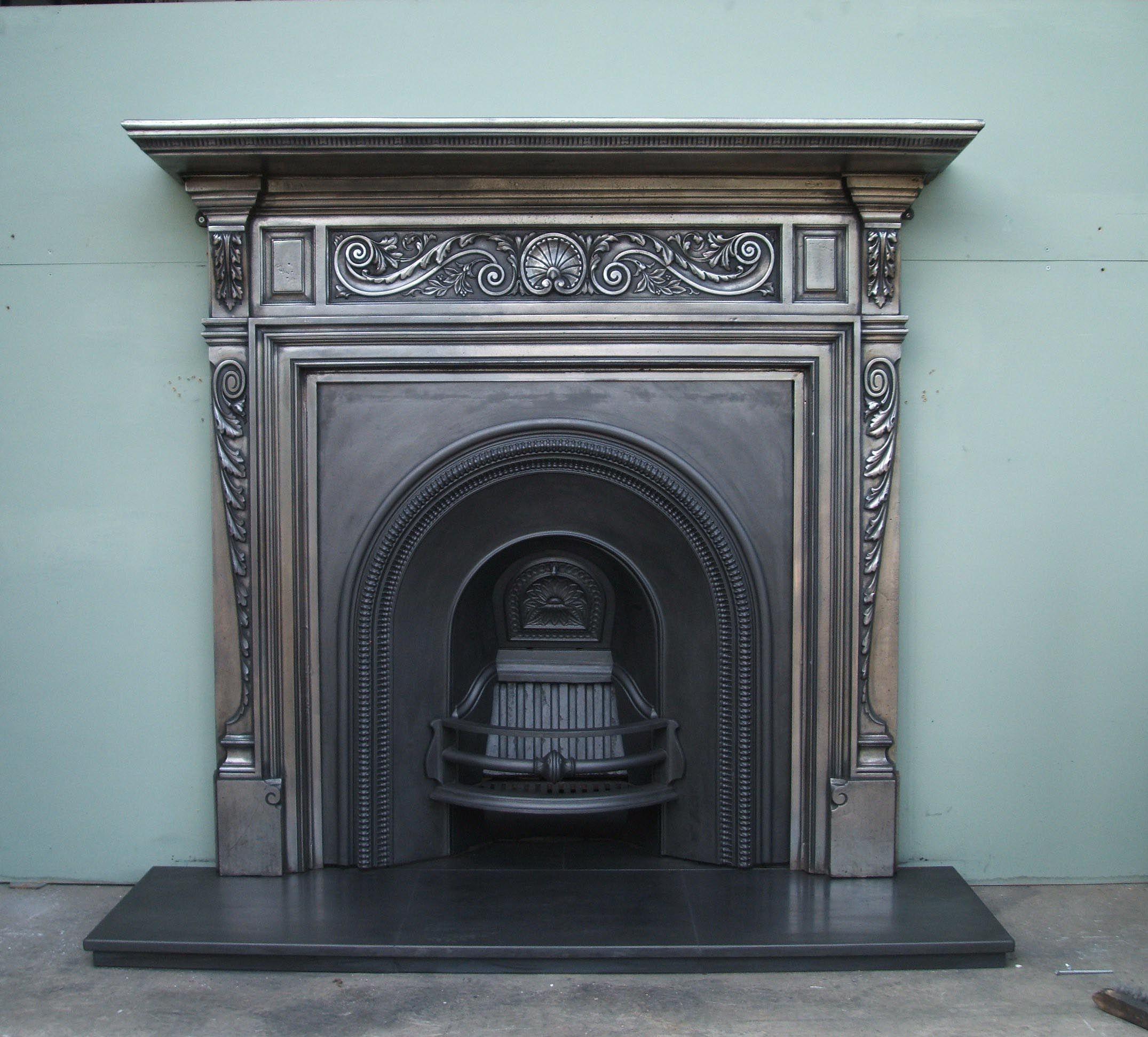 Antique Metal Fireplace Surround Metal Fireplace Fireplace Fireplace Surrounds