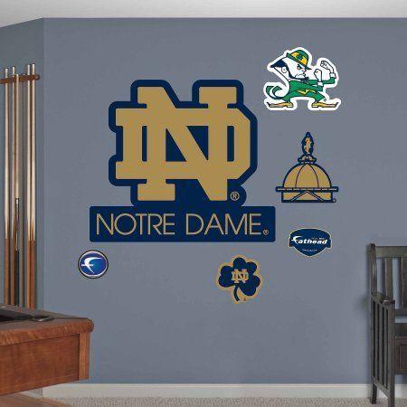 Notre Dame Logo, Multicolor
