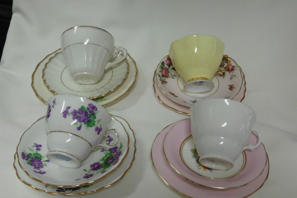 Crazy Tea Set Colclough Royal Albert Paragon J&G Meakin Royal ...