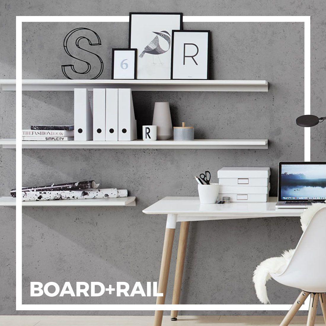 Board Rail Wandregal Nach Mass Mit Bildern Wandregal