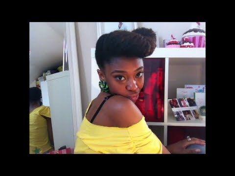 Pin By Tina Harris On More Ambitious Hair Natural Hair Updo Tutorial Natural Hair Styles Beautiful Natural Black Hair