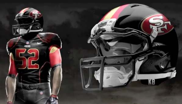 8d01670a6 49ers unveil new alternate uniforms to players - Niners Nation